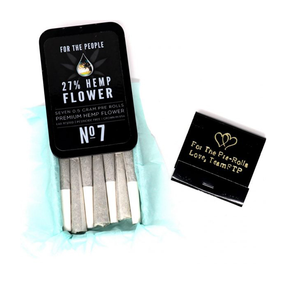 CBD Flower Pre-rolled Joints (7 ct) @27% | Matche Kit | Spectrum Relief