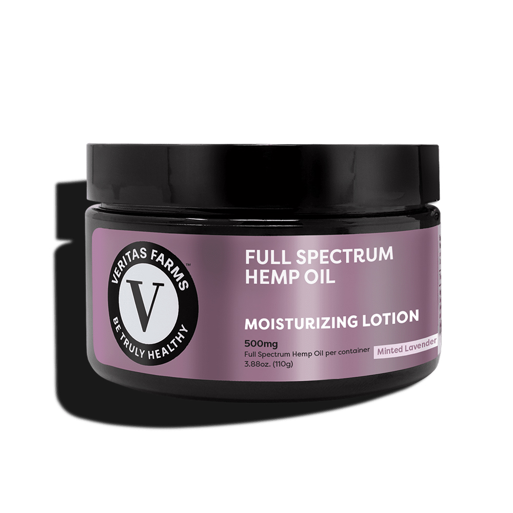 Veritas Farms Full Spectrum CBD Lotion - 500mg | Spectrum Relief