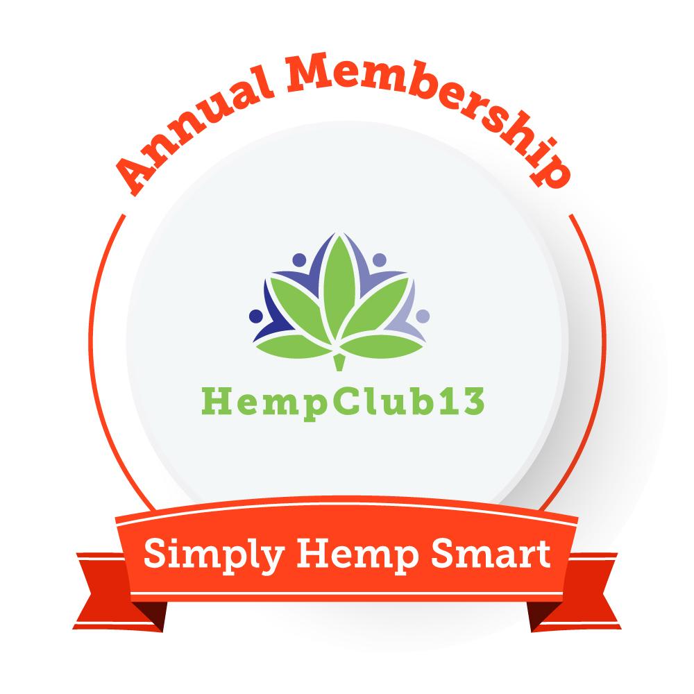 Hemp Club 13 Annual Membership