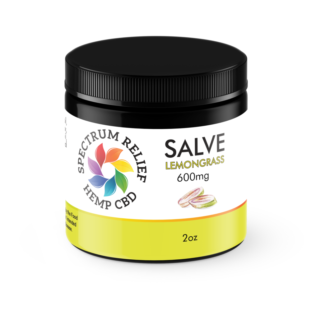 CBD Lemon-Grass Salve - 600mg UNREFINED | Spectrum Relief